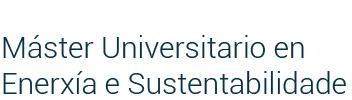 Máster Universitario en Enerxía e Sustentabilidade
